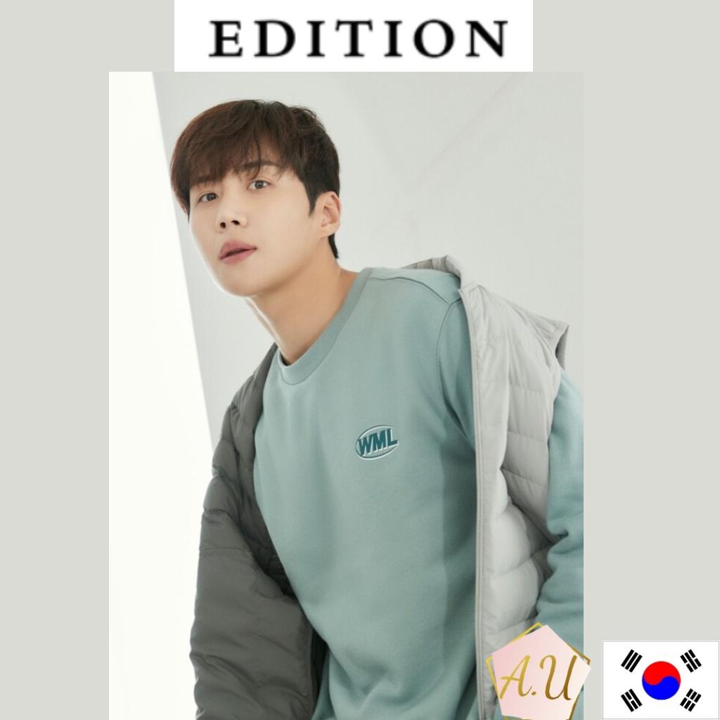 [EDITION] Edition sensibility 2021 new collection  kim seon ho sweat shirt shipping from korea kim seon ho merch men clo