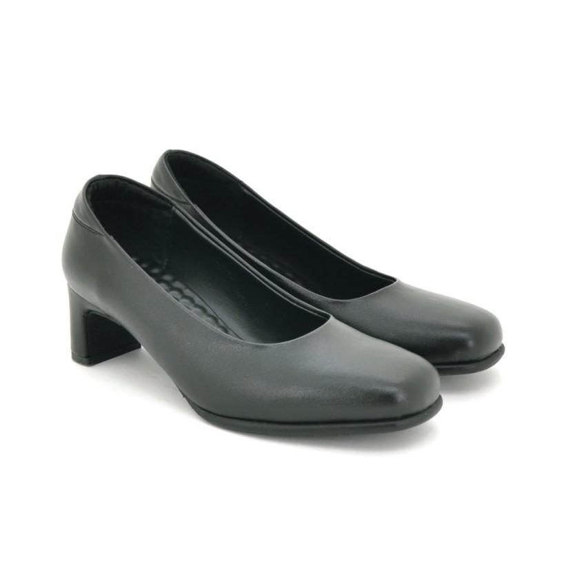 รองเท้า รองเท้าคัชชู ส้นสูง BATA รองเท้าผู้หญิงคัชชู LADIESHEELS PUMP NEO-TRAD สีดำ รหัส 6116352
