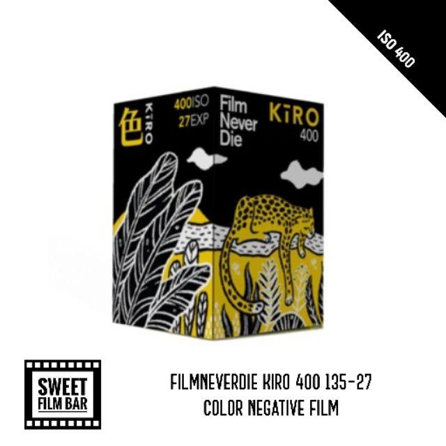 [135color] Film Never Die Kiro 400 135-27 Exp 2022/05 ฟิล์มสี ฟิล์มถ่ายรูป ฟิล์มถ่ายภาพ 35mm.