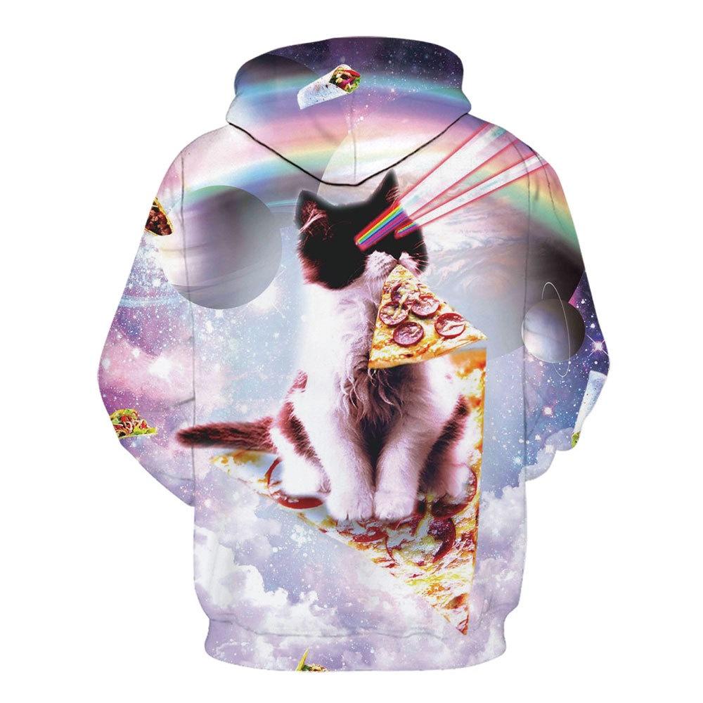 LSHGDAliExpress ภาพยนตร์การ์ตูน3Dเสื้อสวมหัว hoodie พิมพ์ดิจิตอล;;