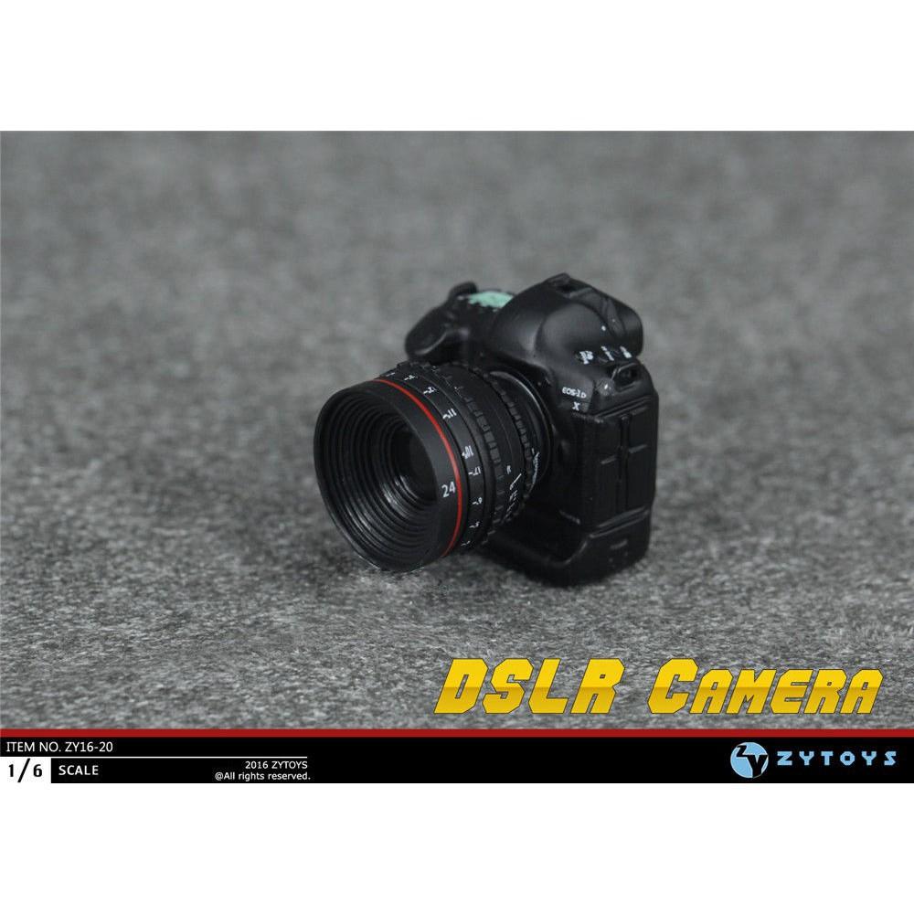 "1//6 Scale Digital SLR Camera set Model F 12/"" Action Figure Doll ZY16-20"