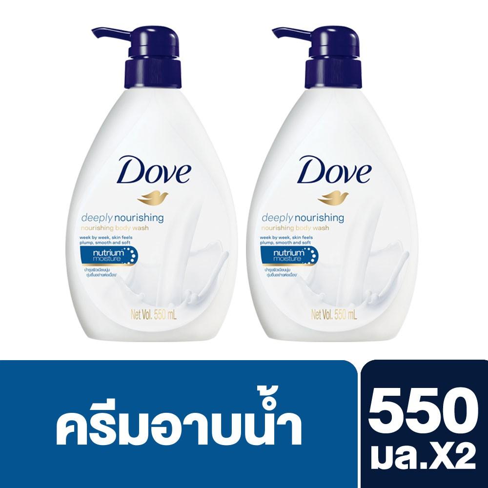 Dove Sakura Blossom Nourishing Body Wash Twin Pack Go Fresh Revive Pump 550ml 720 2 Shopee Thailand