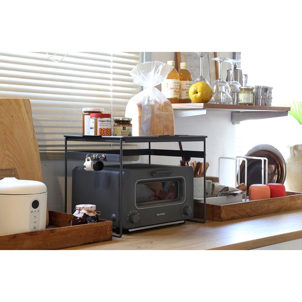[Rhombus] Toaster rack for Balmuda : ชั้นวางสำหรับเตา Balmuda ถาดด้านบนยกเสริฟได้