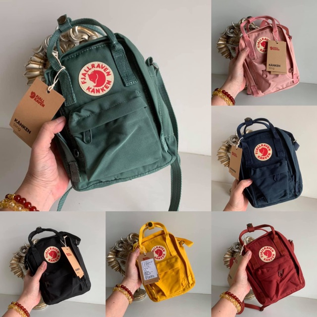 FJALLRAVEN KANKEN Sling Bag กระเป๋านักเรียน  น่ารัก