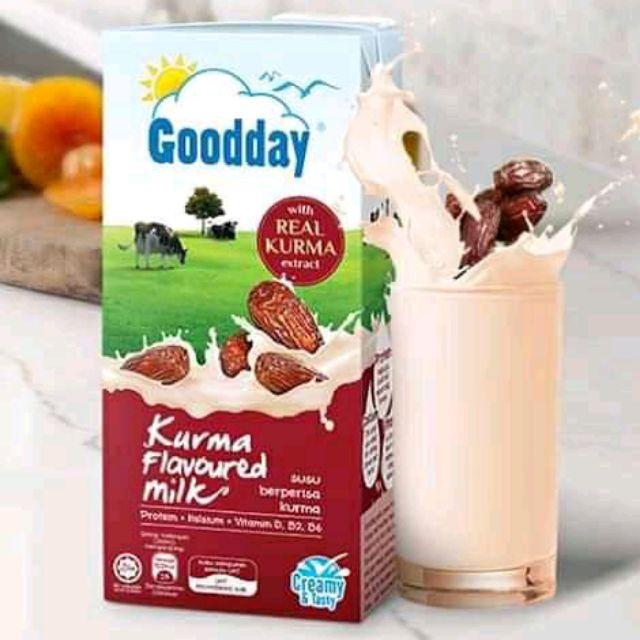 นมสดอินทผาลัม Goodday (200 มล./ กล่อง)