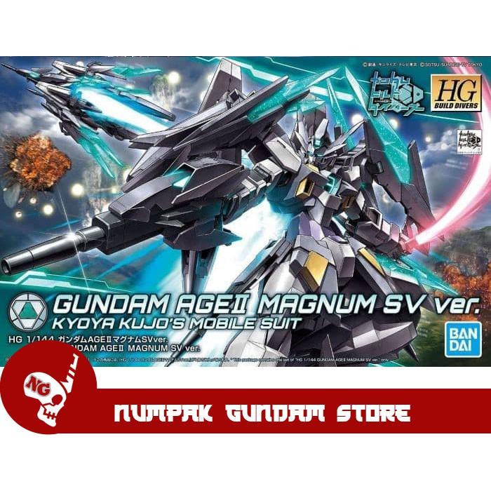 อะไหล่ชิ้นส่วนซ่อมแซม Gundam Age Ii Sv Ver Hg 1 / 144 Bandai