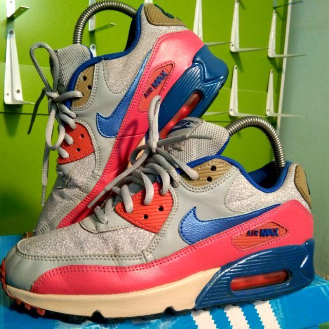 Nike airmax 90 ไซ้ 38.5-24.5 มือสองแบรนด์แท้
