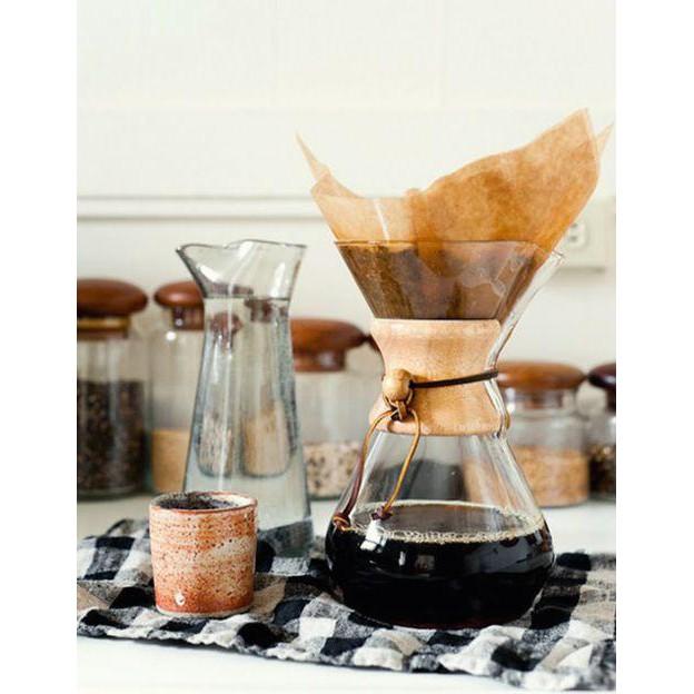 เหยือกใสพร้อมปลอกจับกันความร้อน เหยือกทำกาแฟ กาแฟดริป Drip Coffee 6 Cup  แถมฟรีเครืองบดกาแฟ แบบหมุนด้านบน 1 เครื่อง
