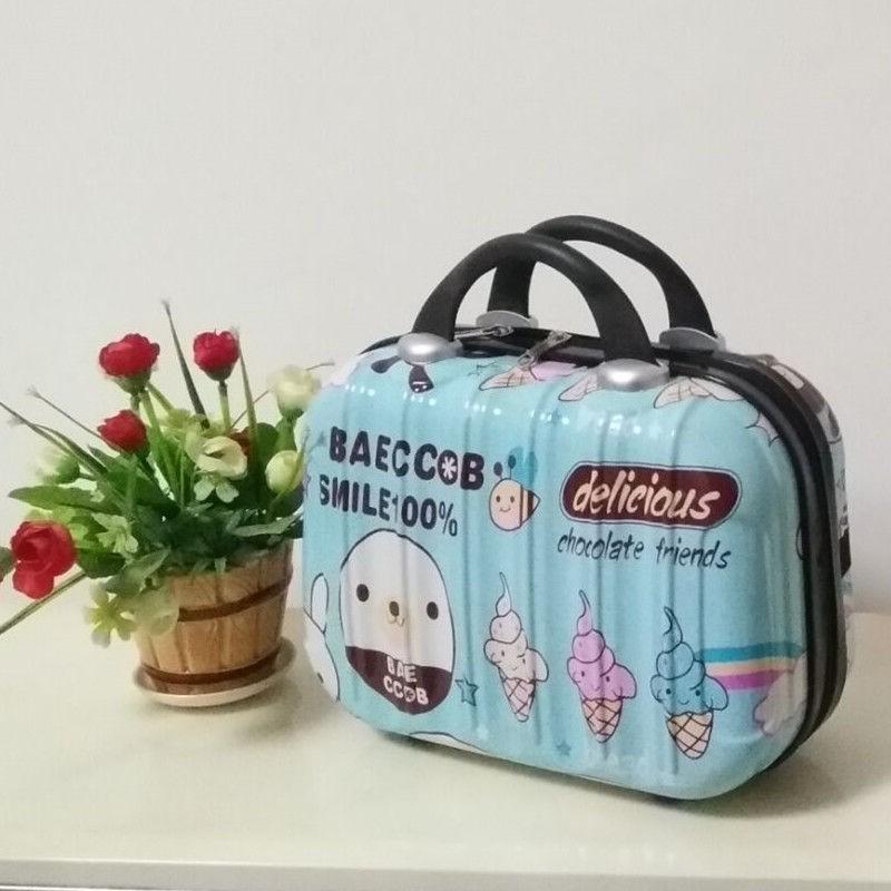 🔥ขายด่วน ฤดูใบไม้ร่วง กระเป๋าใส่เครื่องสำอางแบบพกพาขนาดเล็ก 14 นิ้ว, กระเป๋าเดินทางขนาดเล็ก 16 นิ้ว, กระเป๋าเดินทางแบบพ