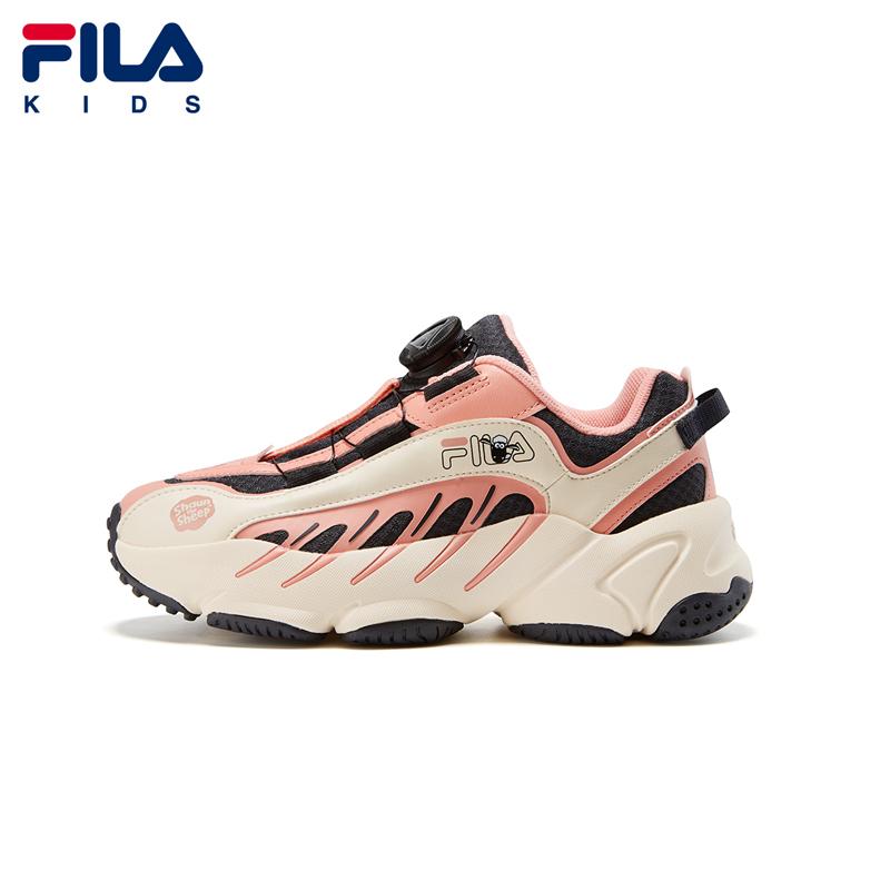FILA Filaเด็กชายและเด็กหญิงเสื้อผ้าเด็กรองเท้าวิ่งย้อนยุค2020ฤดูหนาวใหม่รองเท้ากีฬาเด็กร่วม
