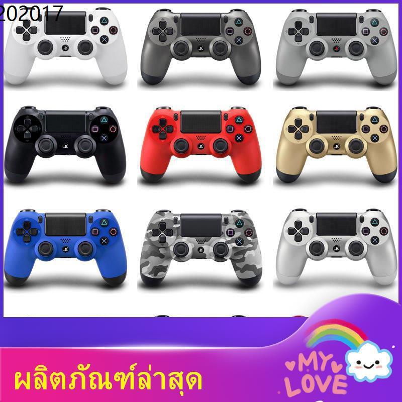 จอยเกมส์สำหรับมือถือ จอย ps4 จอยเกมส์ pc จอยเกมส์ ps4 แผ่นมือ2 ✯PS4 จับบลูทู ธ ไร้สายสั่นเกม ps4pro จำกัด รุ่นที่สองที่จ