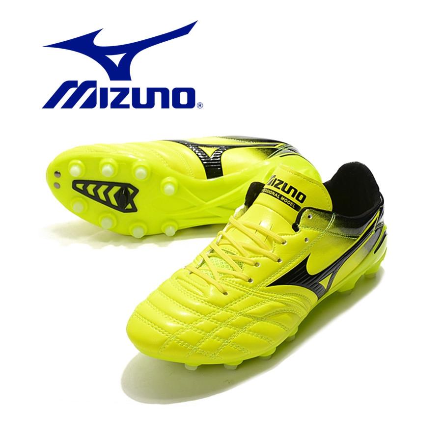 OriginalMizuno Morelia Neo II FGรองเท้าฟุตบอลรองเท้าฟุตบอลอาชีพรองเท้าฟุตบอลฟุตซอล รองเท้าสตั๊ด