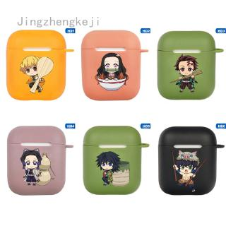 Review Demon Slayer: Kimetsu No Yaiba Anime Pattern For Apple Airpods Case  Bluetooth Earphone Protective Cover Silicone