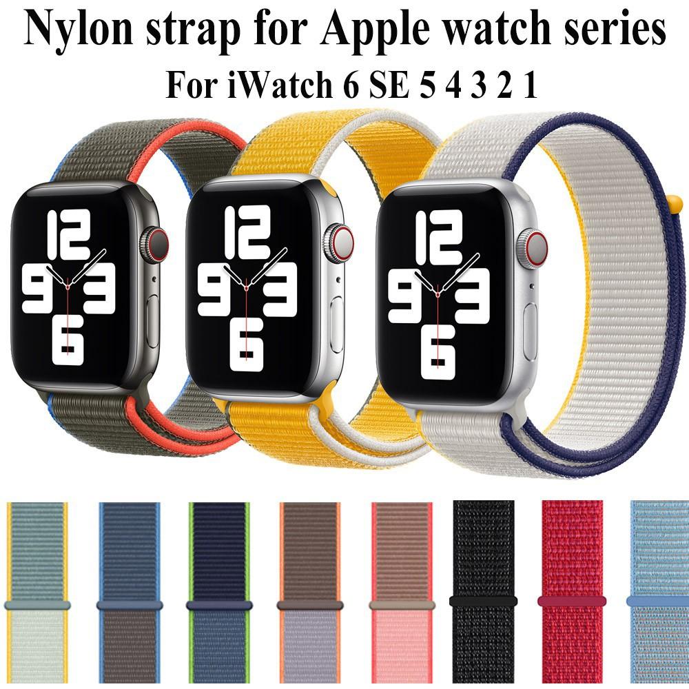 สาย applewatch สายนาฬิกา applewatch สาย applewatch  for Apple Watch Band 6 se 5 4 3 2 1 iWatch 42 มม. 38 มม. 40 มม.44มม