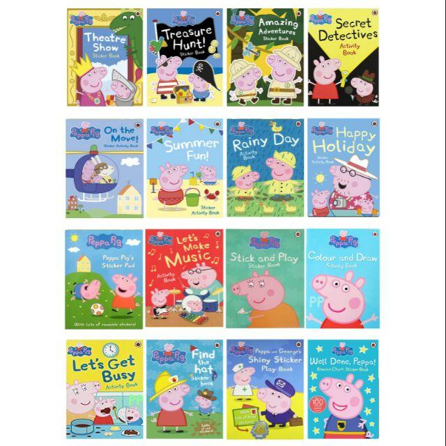 Peppa Pig activity&sticker books