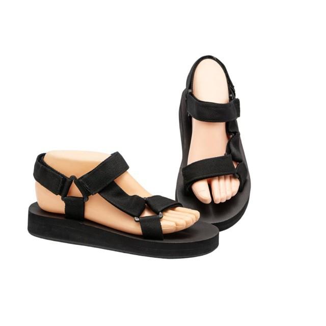 รองเท้าแตะ รองเท้าไซส์ใหญ่ รองเท้าไซส์ใหญ่ 41 45 รองเท้าคัชชู รองเท้ารัดส้น 2สาย สีดำ ใส่ได้ทั้งหญิงและชาย / 2-Straps Sa