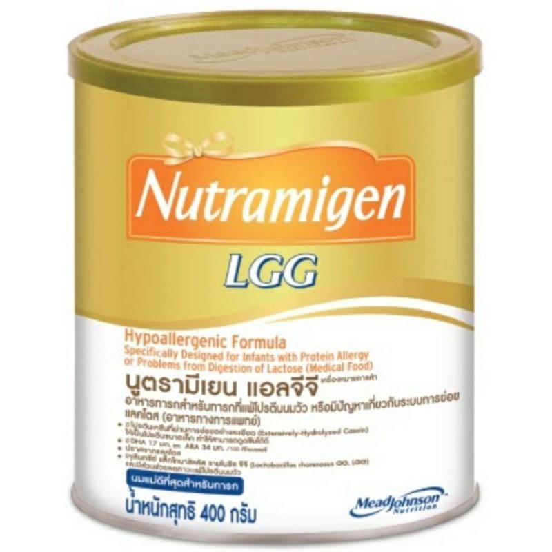 เอนฟานูตรามีเยน อาหารสำหรับเด็กแรกเกิด แพ้โปรตีนนมวัว หรือ ระบบการย่อยการดูดซึมแลคโตส ขนาด 400 กรัม1กระป๋อง.