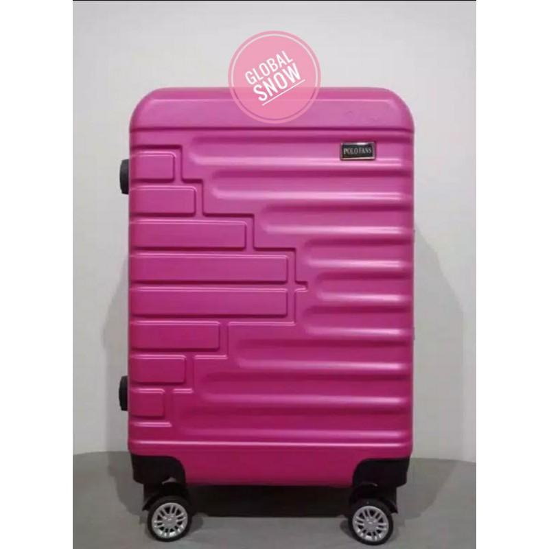 กระเป๋าเดินทางแบบมีซิปพรีเมี่ยมขนาด 24 นิ้ว / ซิป / Kece / กระเป๋าเดินทางชั่วคราว / กระเป๋าเดินทาง
