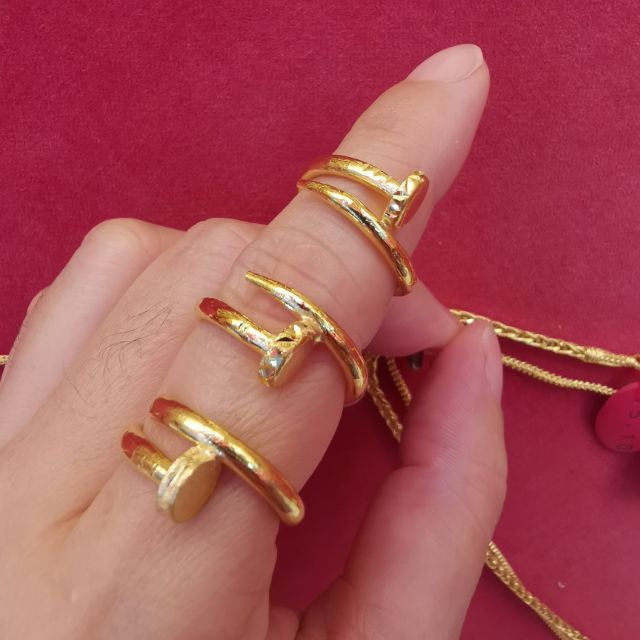 ##ซื้อเฮงใส่ดี แหวนทอง 96.5%  น้ำหนัก 1 สลึง ไซ้ร 50-53 ราคา 8,050บาท