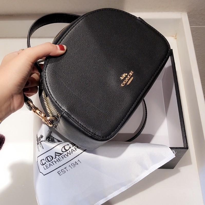 Coach Serena New Crossbody Bag Bun Bag Side Bag กระเป๋าสะพายกระเป๋าถือกระเป๋าสะพายข้าง