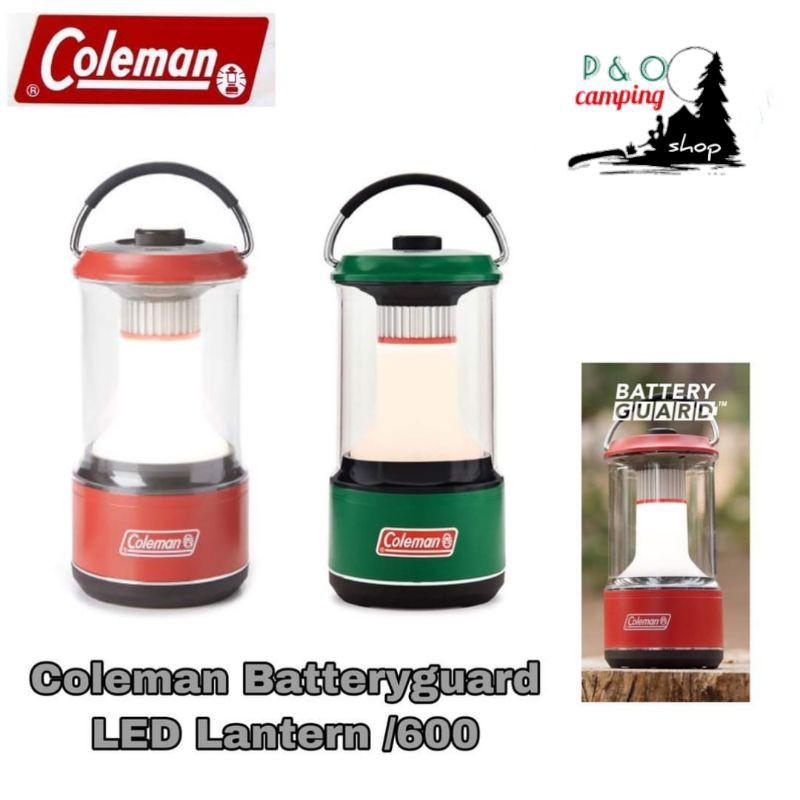 COLEMAN BATTERYGUARD LED LANTERN 600ตะเกียง led แบตเตอรี่ ขนาดกะทัดรัด สว่างถึง 600 ลูเมน ให้โทนสีอบอุ่น