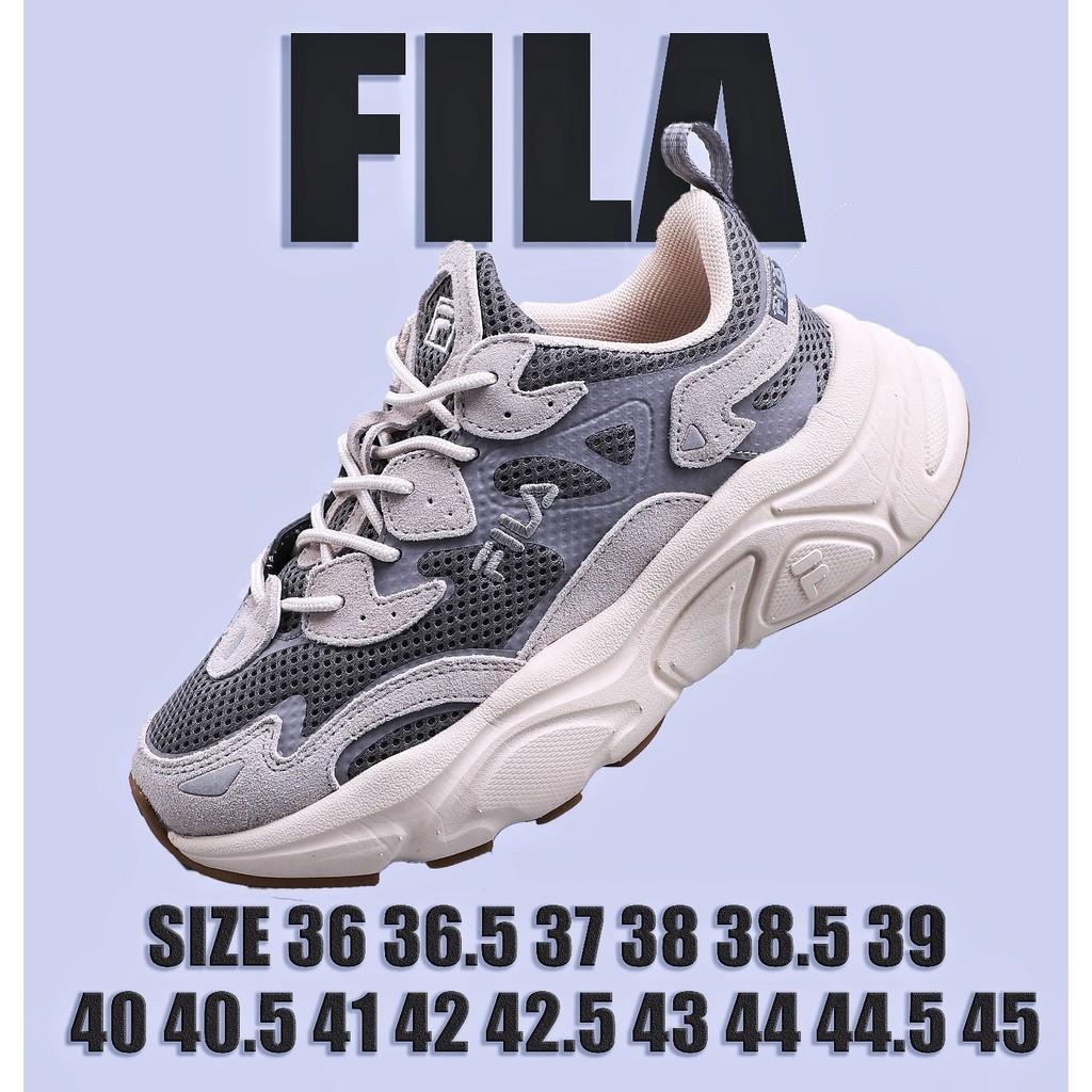 FILAตาข่ายระบายอากาศรองเท้าวิ่งรองเท้าลำลองกีฬา