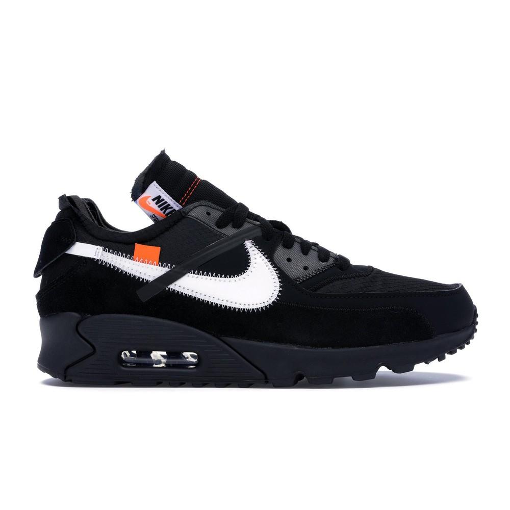"""รองเท้า Nike Air Max 90 X Off-White """" Black """""""