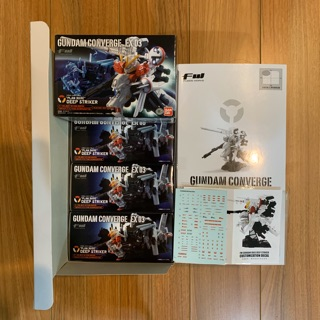 Review FW Gundam Converge Ex03 Deep Strike + Water Decal