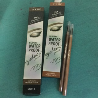 Review MKUP Super Waterproof Eyebrow 0.1g