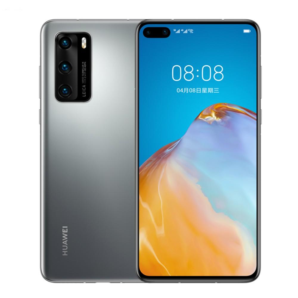 สมาร์ทโฟน Huawei P 40 5 G หน้าจอ 6 . 1 นิ้ว Oled 8gb + 128 Gb Rom 50mp หน้าจอขนาดใหญ่
