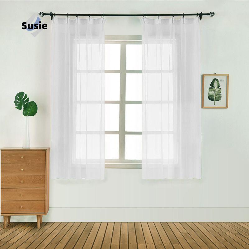 1ชิ้น ผ้าม่านตกแต่งห้องนอน 100X130 cm  ผ้าม่านหน้าต่าง ผ้าม่านสำเร็จรูป ผ้าม่านวินเทจ