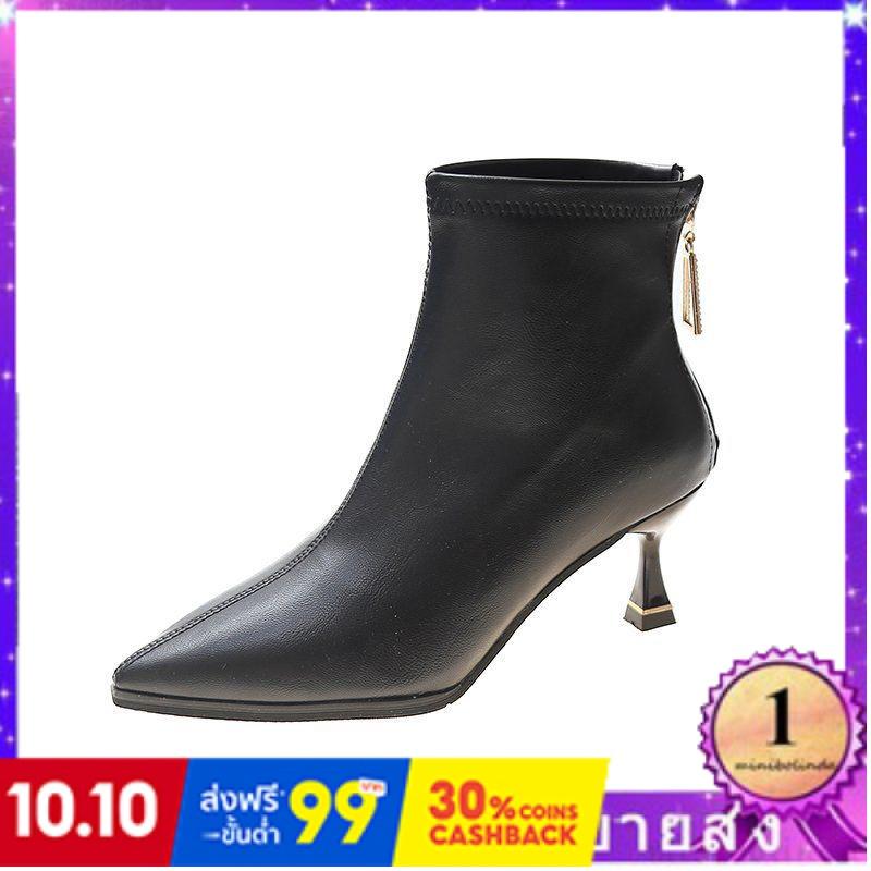 ⭐👠รองเท้าส้นสูง หัวแหลม ส้นเข็ม ใส่สบาย New Fshion รองเท้าคัชชูหัวแหลม  รองเท้าแฟชั่นชี้มาร์ตินรองเท้าผู้หญิงรองเท้าเดีย