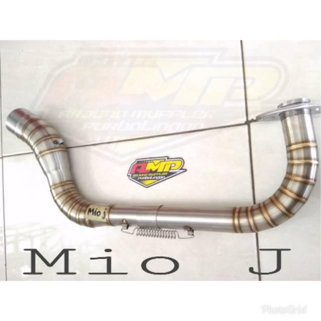 ท่อไอเสียคอท่อคราบ Pnp Mio J