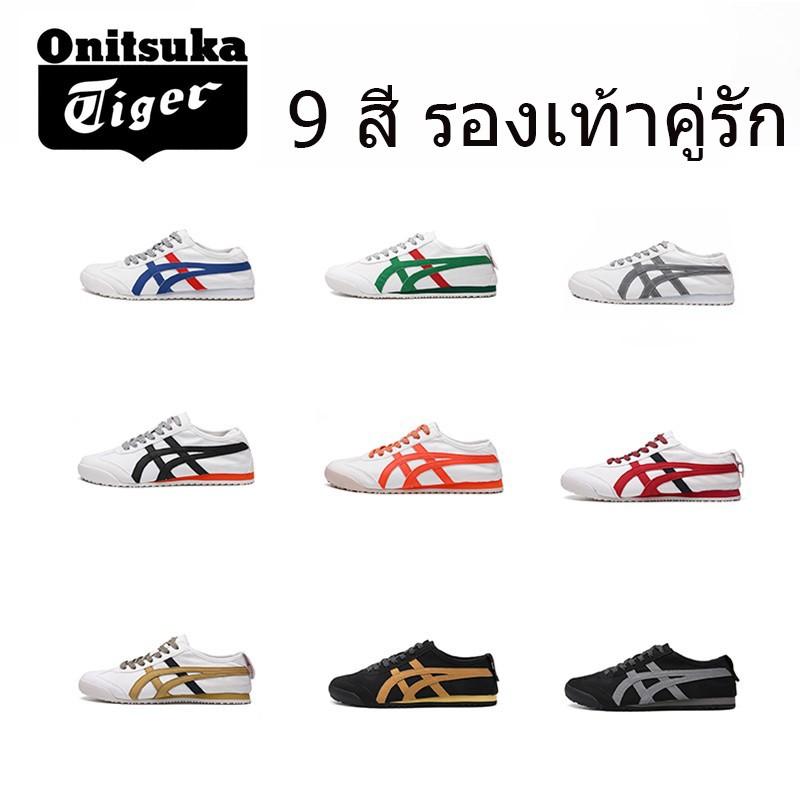 🔥พร้อมส่ง🔥 รองเท้า Onitsuka-Tiger รองเท้าคัชชูผู้ชาย โอนิซึกะ ร้องเท้าวิ่ง