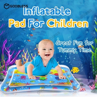 """In stock"" Children's Mat Baby Water Play Mat Inflatable Toys Kids Thicken PVC Playmat Toddler Activity Play Center Water Mat GodBless"