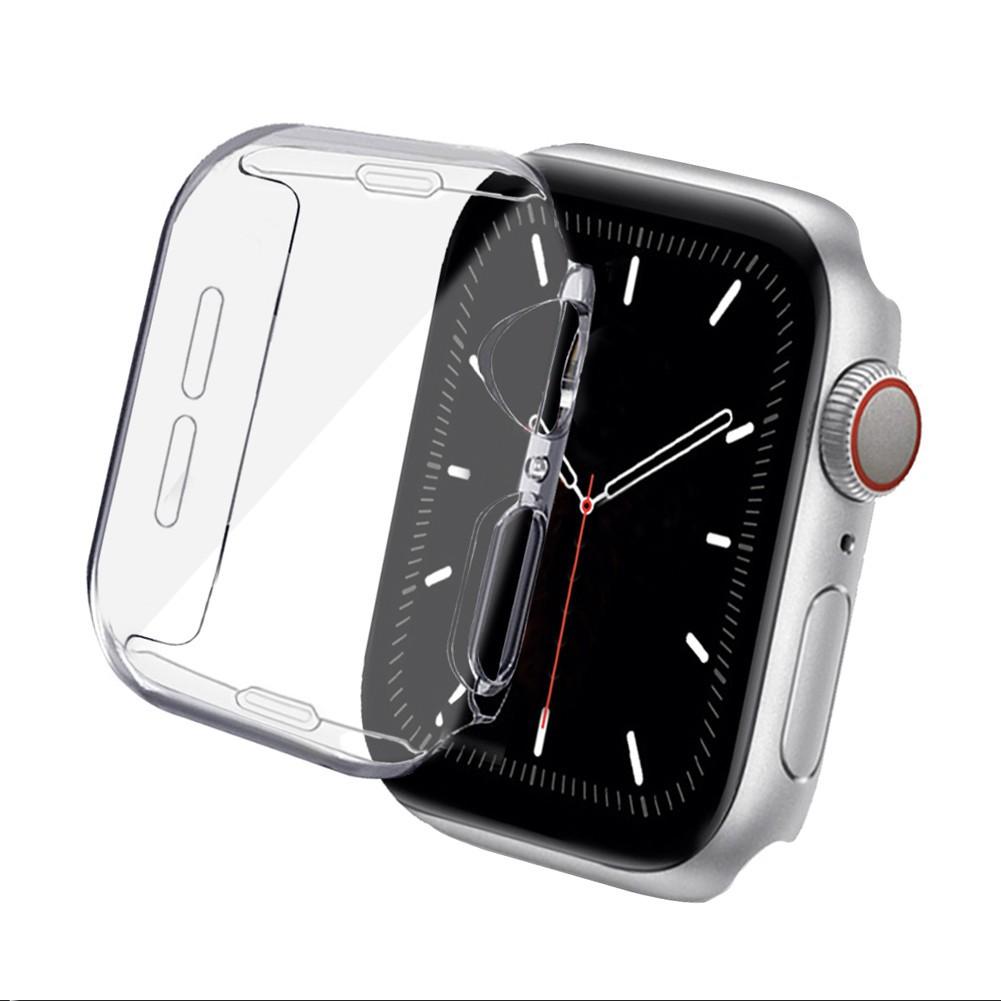 เคส applewatch เคสสำหรับ AppleWatch SE ขนาด 38 มม. 40 มม. 42 มม. 44 มม. ซิลิโคนอ่อนนุ่มหุ้มใสสำหรับ iWatchSeries 6/5/4/3