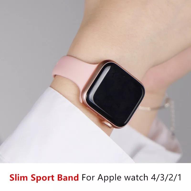READY STOCK* พร้อมส่ง‼️สาย AppleWatch สีมาใหม่ series 6 5 4 3 2 1 สำหรับ applewatch ขนาด  42mm 44mm 38mm 40mm