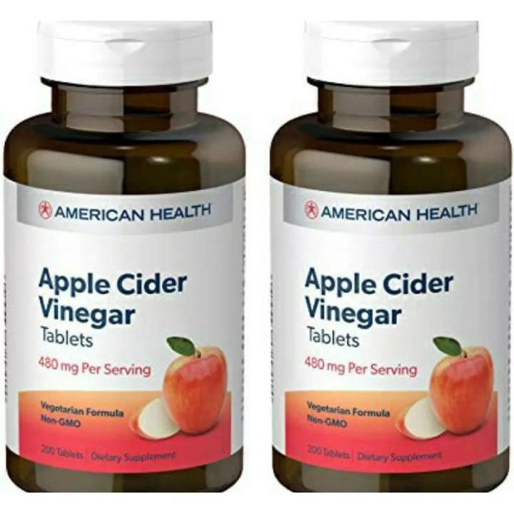 Apple cider vinegar 200 tablets