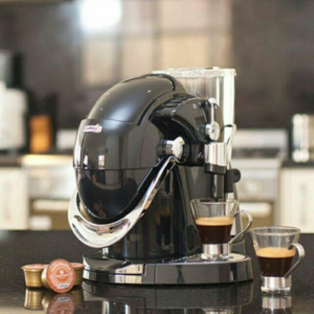 เครื่องทำกาแฟชนิดแคปซูล Caffitaly รุ่น NAUTILUS  + 30 แคปซูล สีแดง/สีดำ