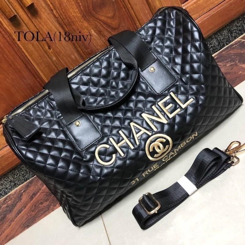 """กระเป๋าเดินทาง Chanel 18"""""""