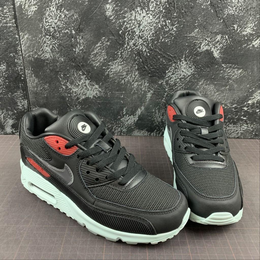 ราคาถูกNike Air Max 90 Men's and women's comfortable casual sports shoes fashion all-match running shoes CK0902-001