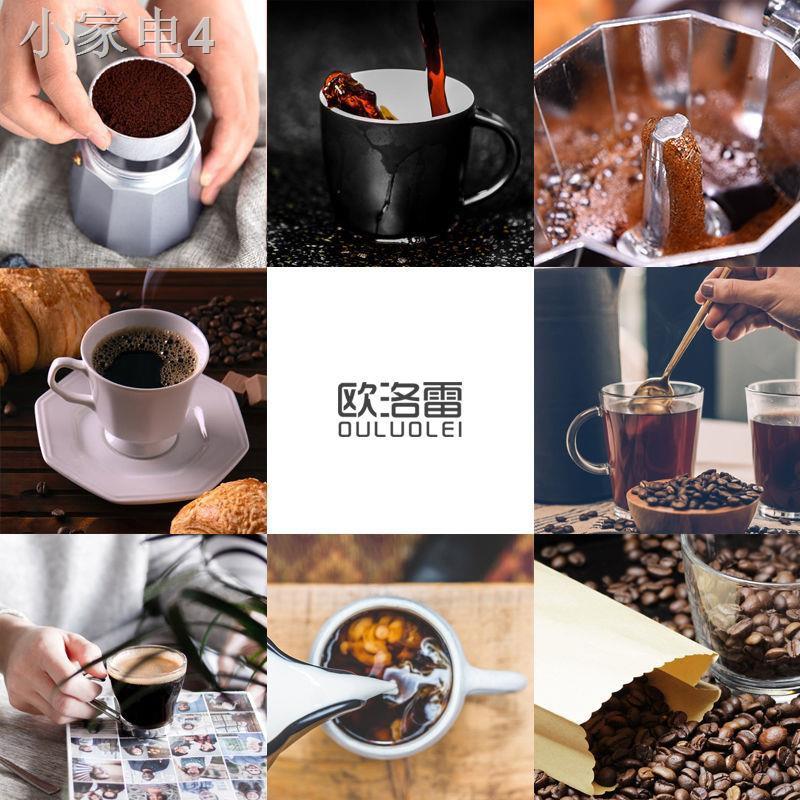 ✗✤Olorei Italian Moka Pot เครื่องใช้ในครัวเรือนหม้อหยดเข้มข้นทำด้วยมือเตาไฟฟ้าหม้อต้มกาแฟเครื่องชงกาแฟอิตาเลี่ยน