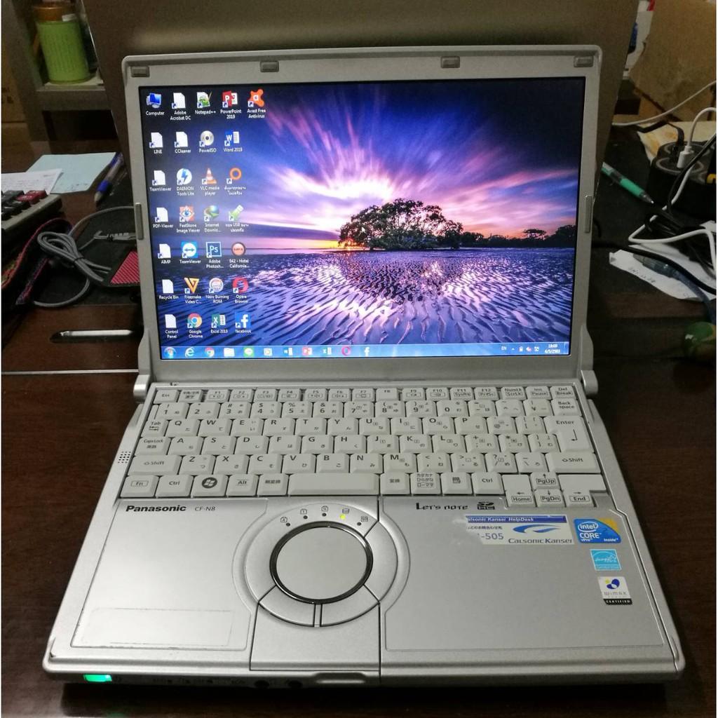 โน๊ตบุ๊ค Notebook Panasonic ขนาด12 นิ้ว (มี 3 สเปคให้เลือก) NCry