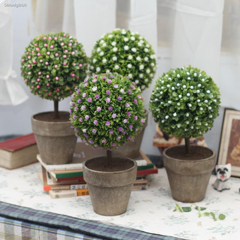 การจำลองพันธุ์ไม้อวบน้ำ☸โต๊ะทำงาน ต้นไม้เล็ก ถั่วลันเตา ต้นไม้ดาวเคราะห์ ดอกไม้จำลอง พืชสีเขียว ดอกไม้ปลอม ตกแต่ง ทุ่งหญ