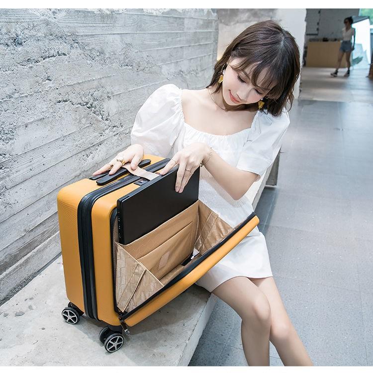 กระเป๋าเดินทางขนาด 18 นิ้ว 17 นิ้ว