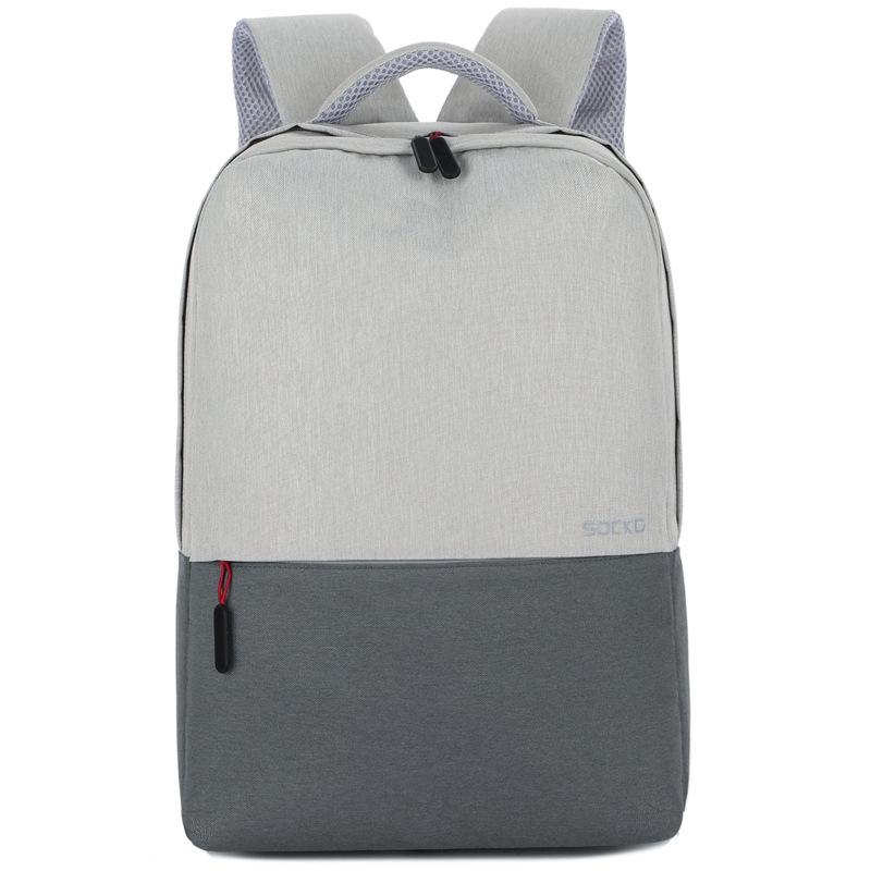 [ความจุมาก] กระเป๋าคอมพิวเตอร์ขนาด 14 นิ้ว / 15.6 นิ้วที่ทันสมัยที่สุดสำหรับการเดินทางเพื่อธุรกิจกระเป๋าแล็ปท็อป Apple Dell กระเป๋าเป้นักเรียนชายและหญิง