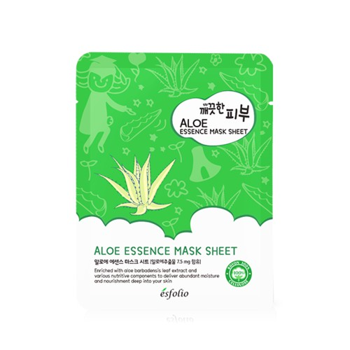 Esfolio Pure Skin Aloe Essence Mask Sheet