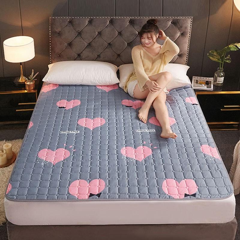 ผ้ารองกันเปื้อน & topperบาง ที่นอนกันลื่น, ที่นอนบาง ผ้ารองกันเปื้อนที่นอน ขนาด 3.5 ฟุต 5 ฟุตและ 6 ฟุต  เครื่องนอน, เหมา