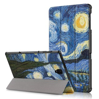Review Samsung Galaxy Tab A 10.5 inch T590 T595 Smart Case Flower Tower Tree Printing