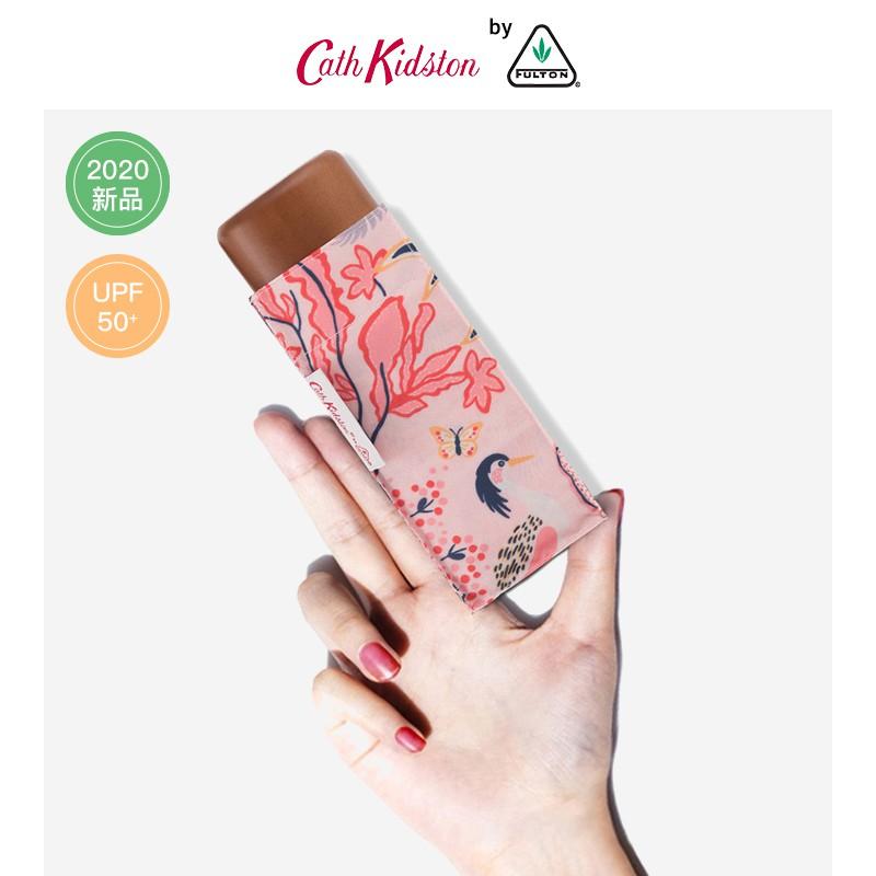 ‐☺ร่มกันuvร่มอัตโนมัติร่มพกพาFulton CathKidston Lightweight Sun Umbrella Female Sunscreen UV Protection Compact Portable